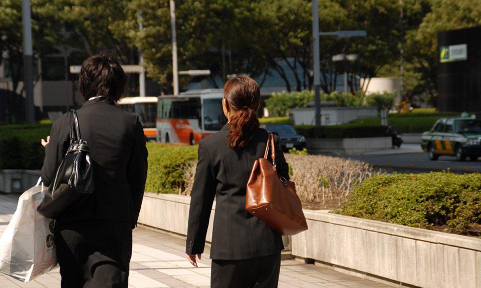 転職活動中のイメージ写真