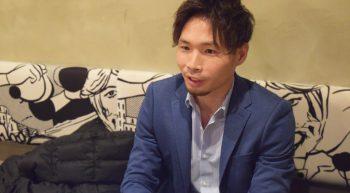 インタビュー中の北川さん