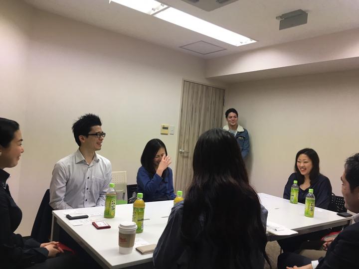 【第二回セミナー】様々な背景を持つ7名の実体験から学ぶ!!キャリア形成における留学経験の活用法(座談会形式)の様子